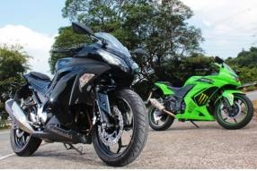 2013 Kawasaki NINJA 300 & Ninja 250-樣正身材靚