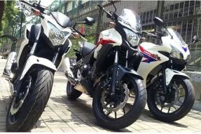 2013 Honda CB500系列 - 一門三傑抵港