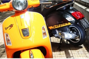 2013 Vespa GTS 300ie SuperSport 兩款two-tone潮色抵港