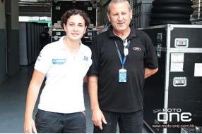 首位Moto3女車手-16歲的Ana Carrasco