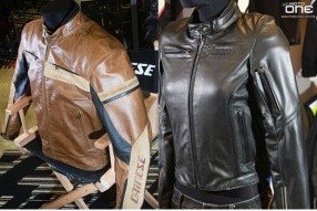 DAINESE JAKECT & LEATHER COLLECTIONS 男、女新款電單車皮衣風衣抵港