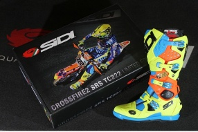 SIDI Crossfire 2 TC222 Tony Cairoli特別限量版 - 戰靴共賞