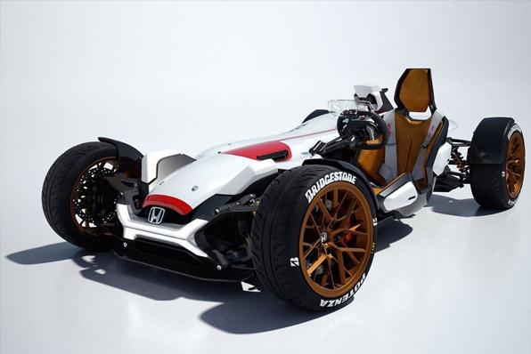 配備HONDA RC213V-S引擎的F1概念街車