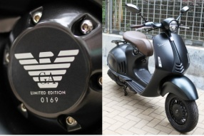 Vespa 946 150 EMPORIO ARMANI│時裝品牌特別限量版│優雅登場│售價HK$99,800
