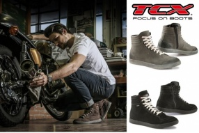 TCX X-GROOVE GORETEX、WATERPROOF及X-WAVE WATERPROOF 意大利防水電單車型靴抵港