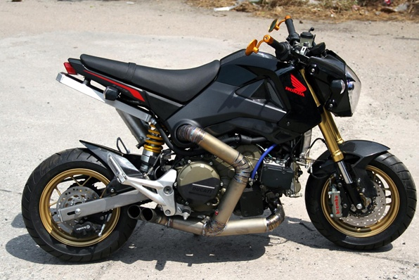 200匹HONDA MSX-Ducati 1199 Panigale引擎