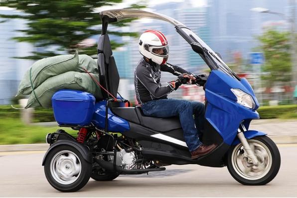 ADIVA AR3 200-超大載貨量三輪車