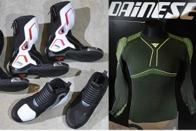 DAINESE BOOTS & SHOES & D-CORE│賽車皮靴、街用鞋款、有甲汗衣及汗褲