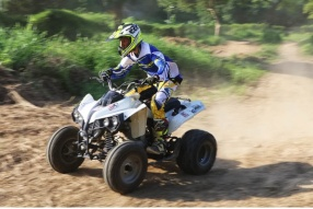 去MXCLUB玩 QUAD BIKE 四輪電單車