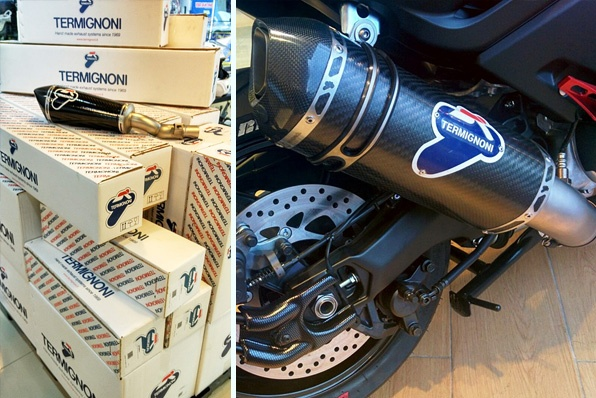 MT-09、TMAX 530、MT-07、YZF-R3、NINJA 300-意大利人手製造Termignoni排氣管