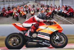 Ducati HK賽道駕駛同樂日 - Ducati 廠方御用試車員及DRE導師Alessandro Valia親臨指導CER-Ducati HK車隊