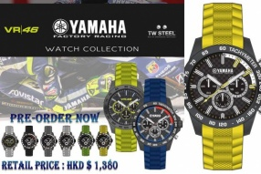 YAMAHA x TW STEEL WATCH COLLECTION VR/46新款 現已接受預訂!
