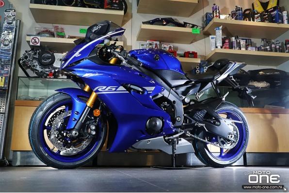 2017 Yamaha YZF-R6│600cc的R1│新車抵港
