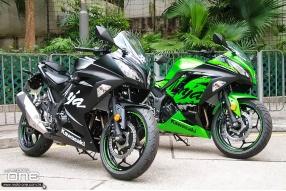 2017 Kawasaki Ninja 300 ABS Winter SP及川崎綠SP登場 - 冬測版裝備更好更抵玩