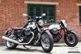 2017 Moto Guzzi V7 III 50 Anniversario / Racer│第三代復古兵團│各限量1000台│閃亮與啞銀│空運抵港