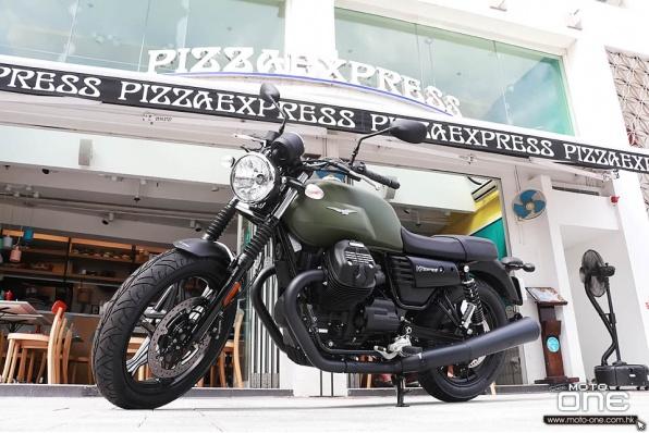 2017 Moto Guzzi V7 III Stone - V7第三代新車抵港