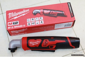 MILWAUKEE RIGHT ANGLE IMPACT DRIVER 12V曲頭起子機及實用工具箱