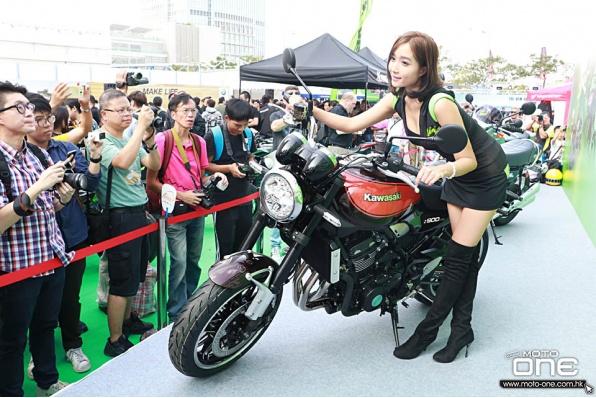 2018 KAWASAKI Z900RS 復古街車火速抵港 - 香港電單車節展出