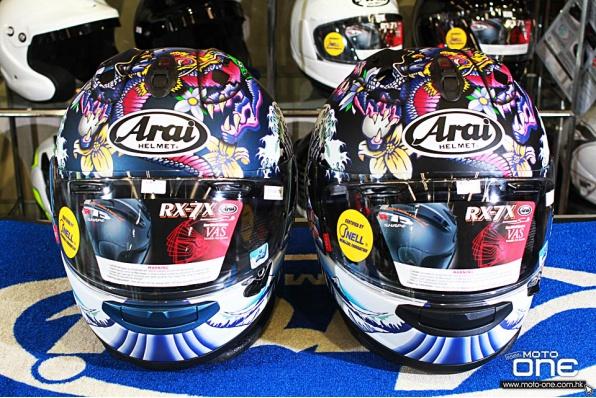 ARAI RX-7X ORIENTAL│啞藍、啞黑限量版│浮世繪/東方龍│日本和風頭盔│鴻興全球獨家發售