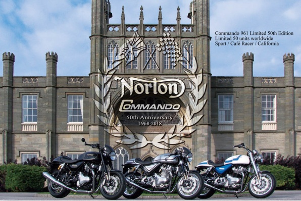 2018 Norton Motorcycles Commando 961 Limited 50th Edition Sport / Cafe Racer / California(2018 Norton 最新車價表 )