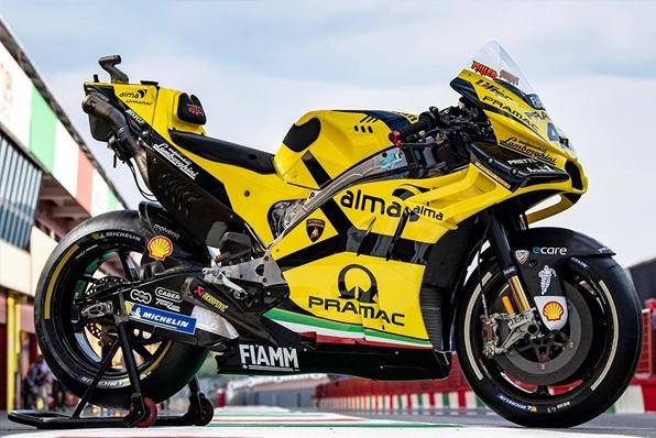 林寶堅尼拉花-DUCATI Motogp衛星車隊Pramac Racing