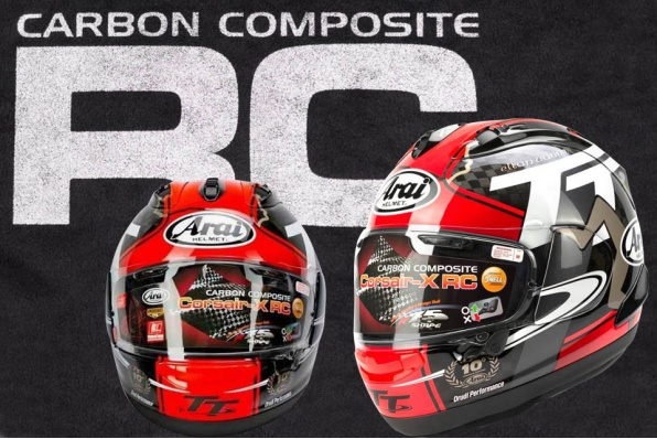 Arai RX-7X SRC IOM TT 2018 限量版碳纖維頭盔│只供訂購