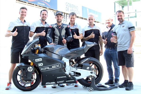 科爾高(Jonas FOLGER)測試2019 Moto2戰車~
