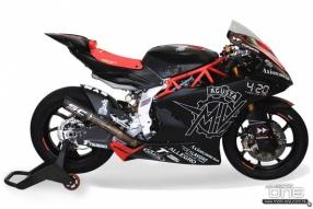 MV AUGSTA出戰2019 Moto2戰車亮相-使用TRIUMPH直三引擎