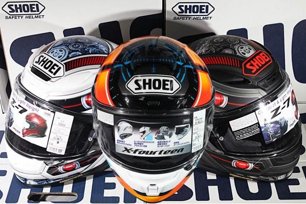 Shoei X-14 De Angelis MOTO2車手新花及Z-7 2018年限定機械造型TROOPER花 - 頭盔王現貨發售
