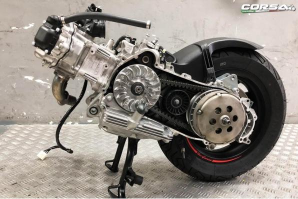 Vespa Sei Giorni x Malossi 引擎及驅動組改裝 - Corsa Motors