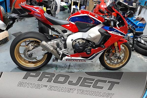 SC-PROJECT鈦合金排氣管-HONDA CBR1000RR SP1更輕更纖巧