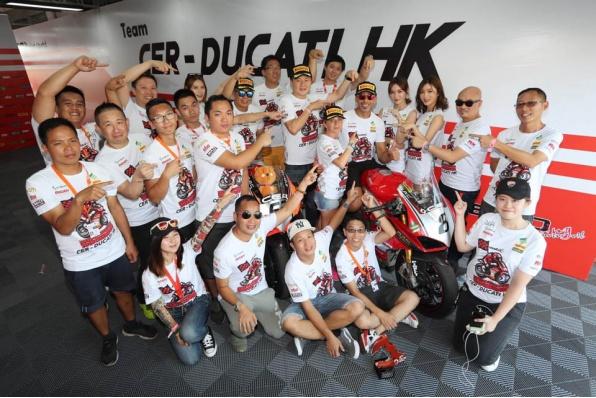 Team CER-DUCATI HK 泛珠大豐收 - Alessandro Valia奪得公開A組全年總冠軍及關英豪奪公開B組全年總季軍