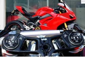 CNCRacing NEW product for Ducati Panigale V4改裝部品及改裝示範車 - CORSA MOTORS