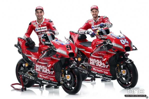2019 DUCATI MotoGP發佈會—新花新車手