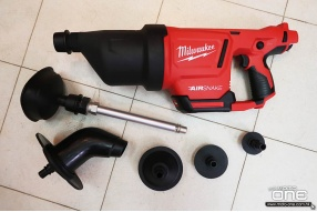MILWAUKEE M12 DRAIN CLEANING AIR GUN 排水清潔空氣槍 - 通渠利器