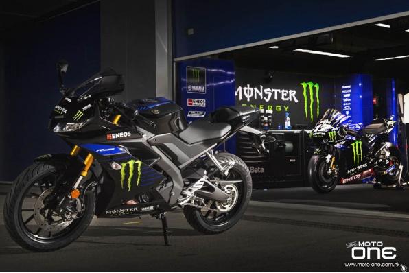 2019 YAMAHA YZF-R125 MotoGP新拉花特別版