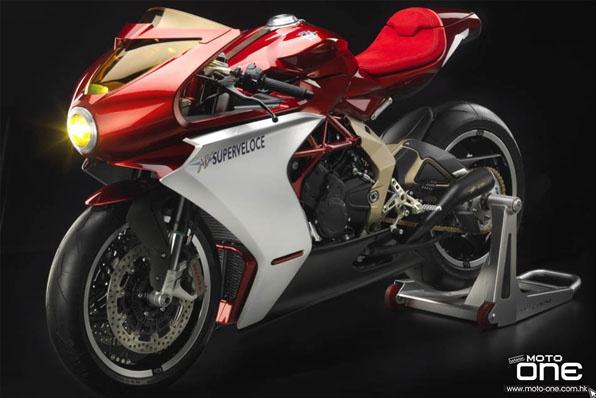 2020 MV Agusta Superveloce 800 Serie Oro-出戰復古車市場