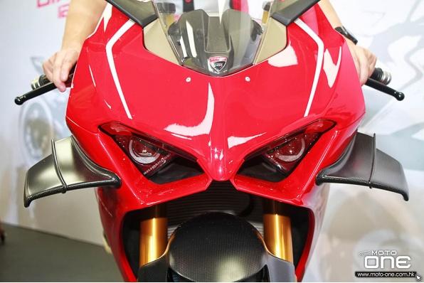 2019 Ducati Panigale V4 R—221hp馬力,新增MotoGP定風翼新車抵港