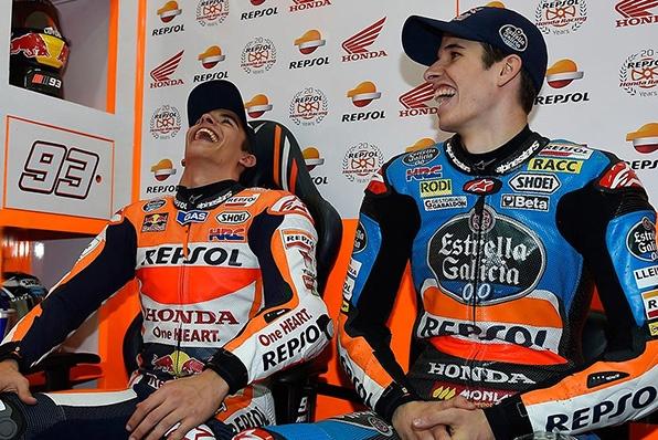 史上首對MotoGP兄弟班-馬坤斯兄弟