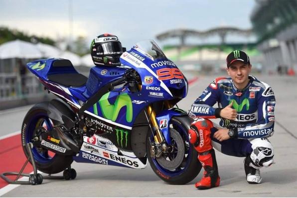 羅倫素重返MotoGP-擔任YAMAHA試車手