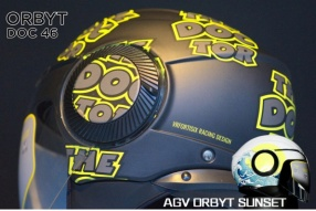 AGV ORBYT DOC 46 & SUNSET 開面頭盔