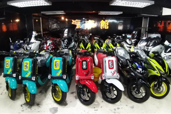 YAMAHA QBIX 125 & Aerox 155 泰國版多色抵港 - 瀛車館