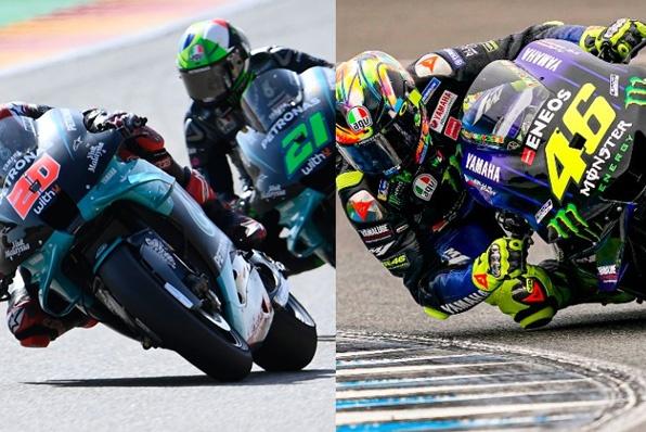 MotoGP YAMAHA違反換引擎零件-被判罰扣減製造商50分