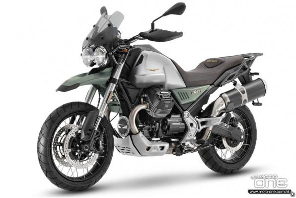2021 MotoGuzzi V85TT-中量級歷奇車抬頭
