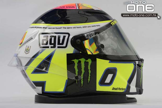 AGV Rossi Misano Helmet wish you were here moto-one.com.hk