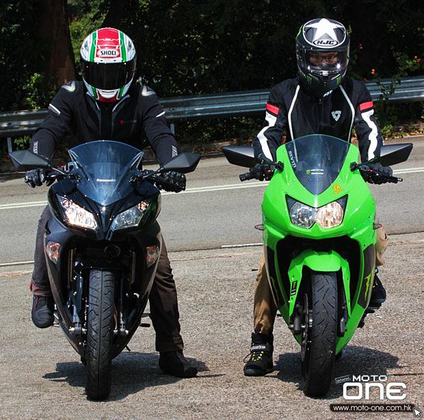 2013 kawasaki ninja 300 & 2008 ninja 250