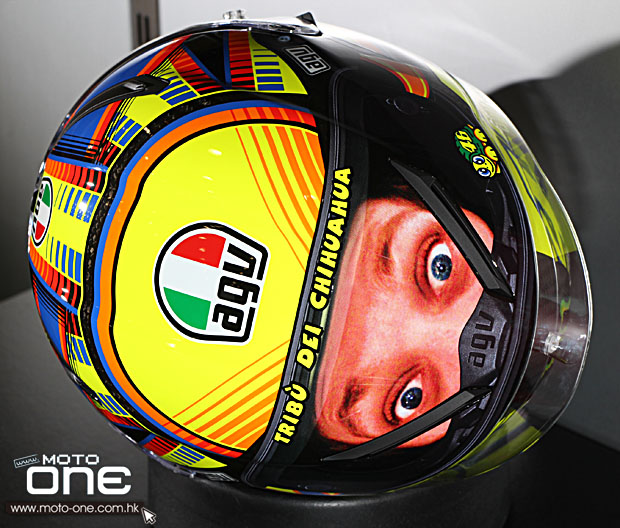 2014 AGV Pista Gp eyes on the back
