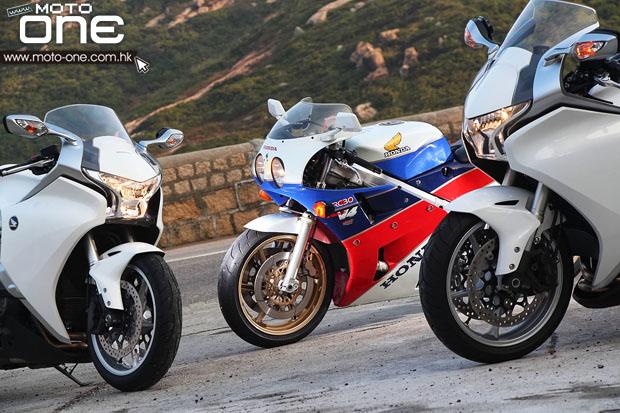 Honda v4 RC 30 & VFR 1200