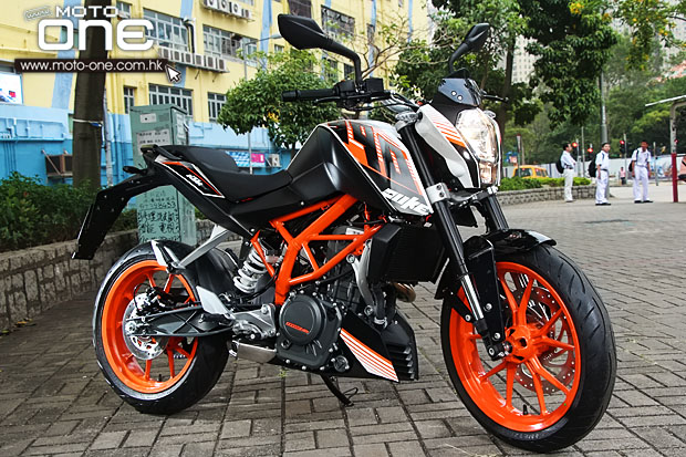 2014 KTM DUKE 390 MOTO-ONE.COM.HK