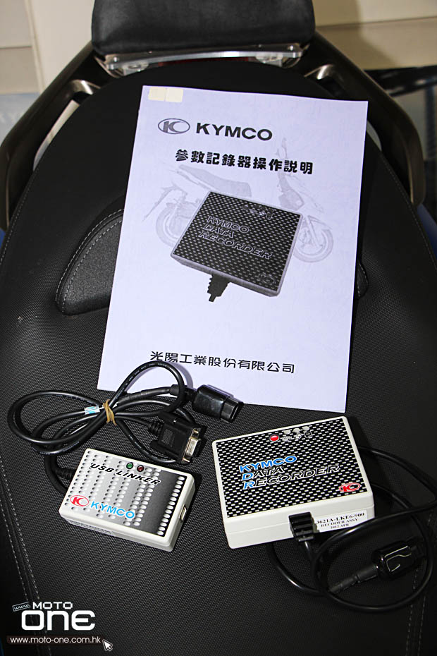 2014 KYMCO DATA RECORDER